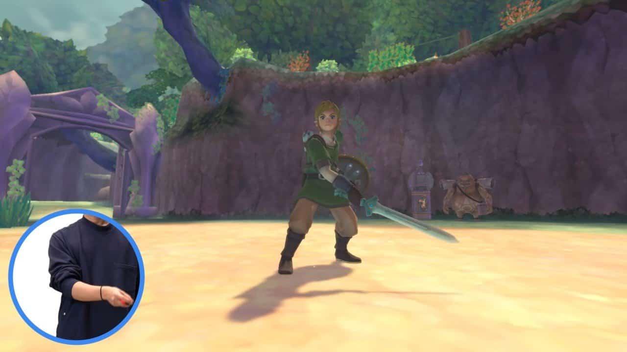 """Préparez-vous aux commandes """"plus fluides et plus intuitives"""" de The Legend of Zelda : Skyward Sword HD"""