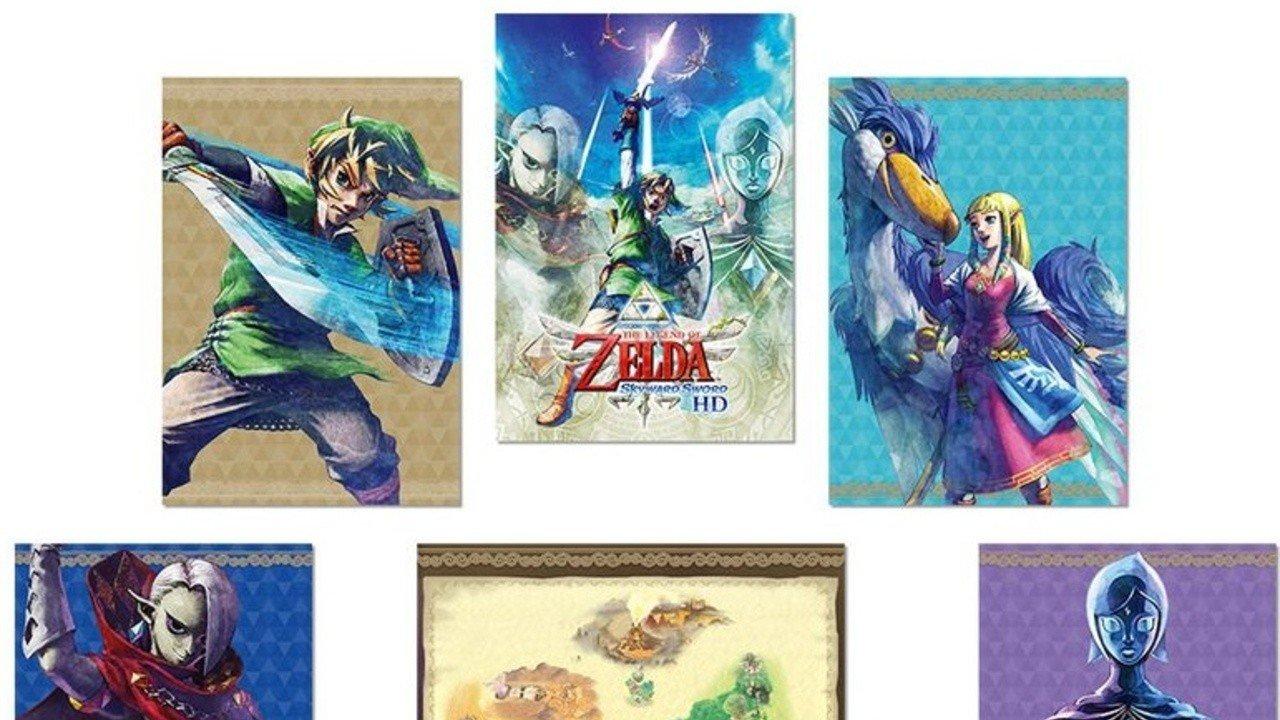 My Nintendo Europe offre des cartes postales Zelda: Skyward Sword HD