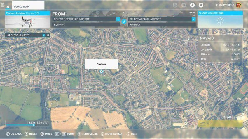 Comment trouver votre maison dans Microsoft Flight Simulator pour Xbox
