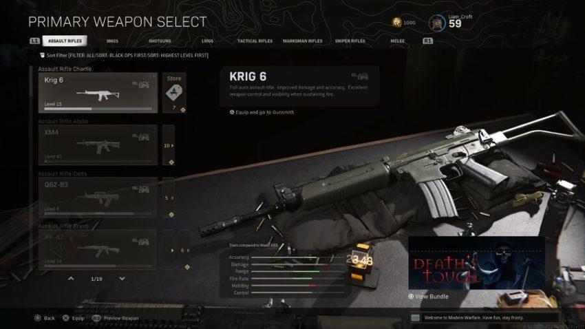 Guide du débutant de Call of Duty Warzone : Les meilleures armes