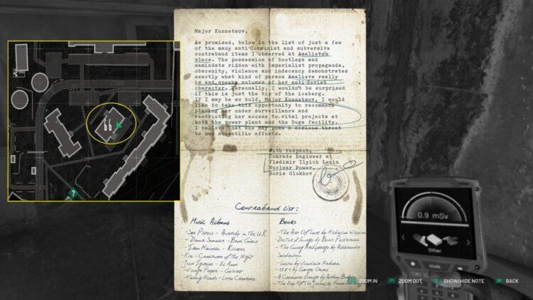 Indice n°7 : le port de Pripyat