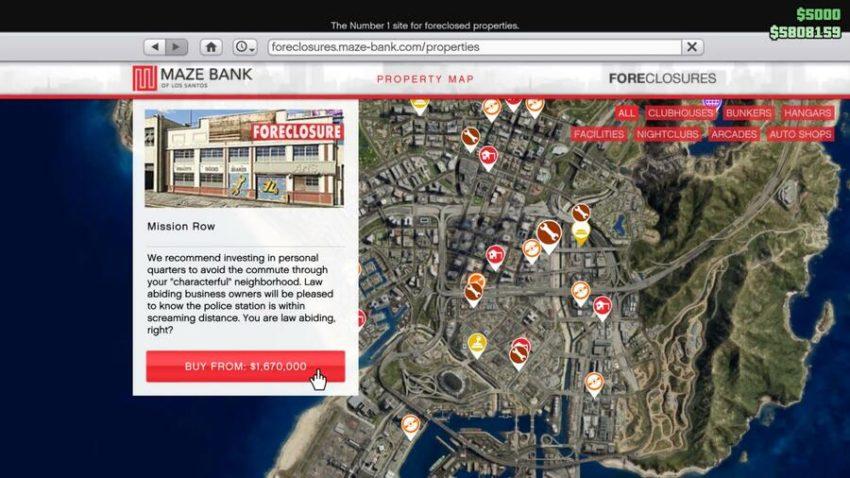 GTA Online: Comment acheter un magasin automobile
